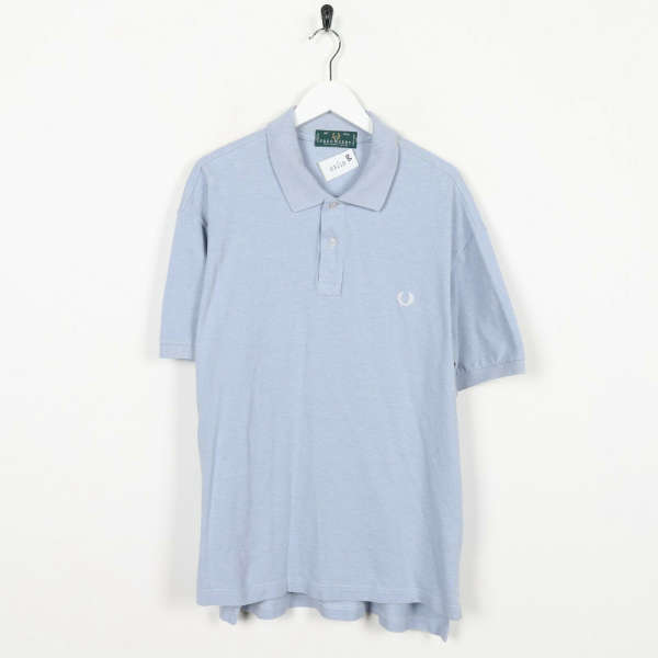 Vintage SERGIO TACCHINI Small Logo Polo Shirt Top Blue | XL | Grade B