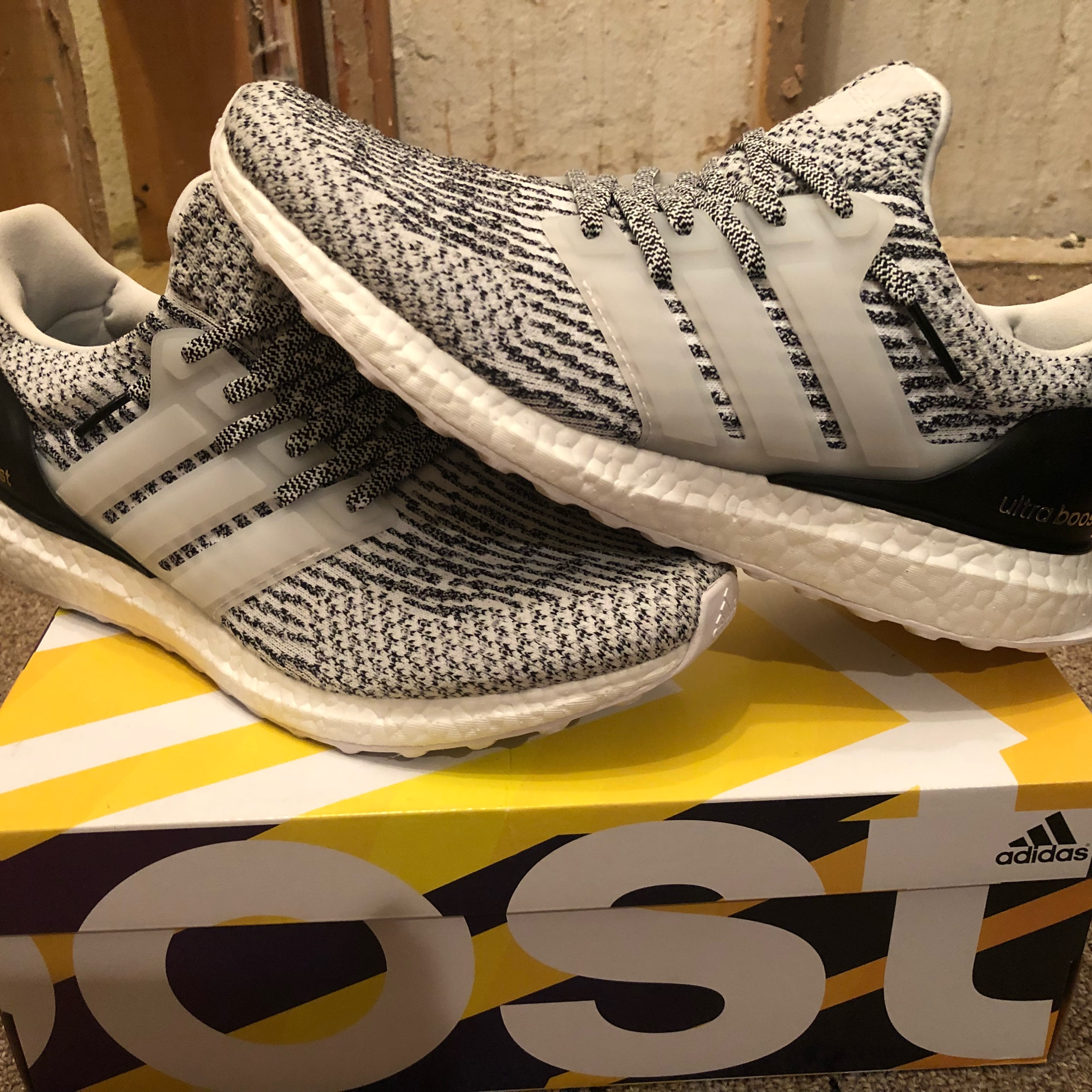 mens adidas ultra boost 3.0 oreo