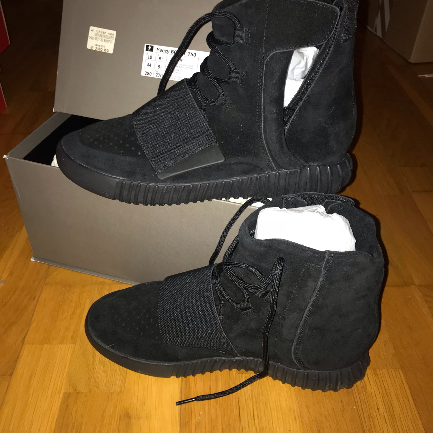 premium selection 60f47 bc830 Adidas Yeezy 750 Black - 10 Us