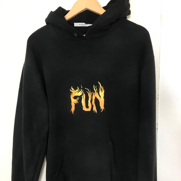 Givenchy Distressed Fun Hoodie