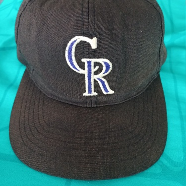 colorado rockies snapback hat ©1992