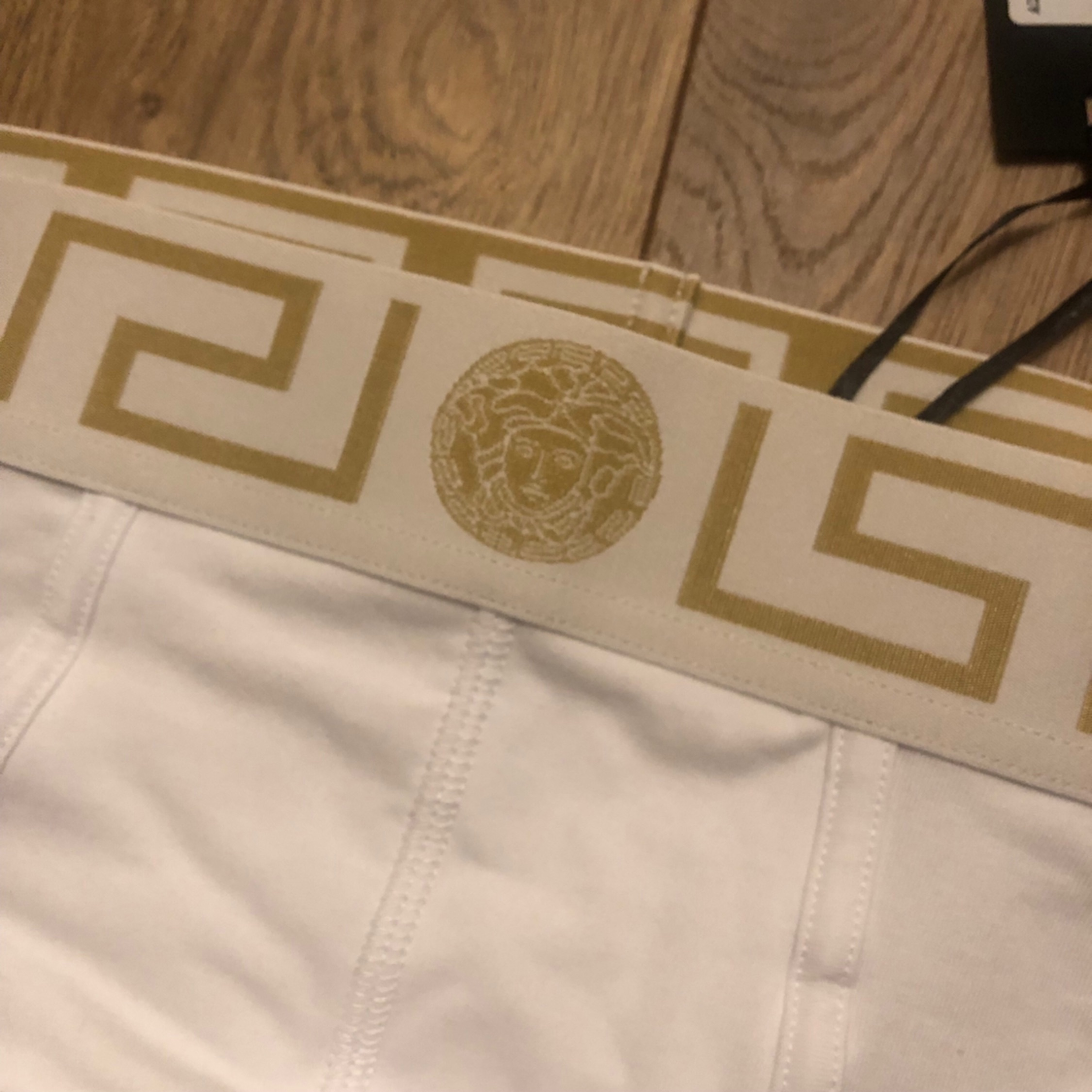 Versace - Medusa Waistband Briefs - Single Pack