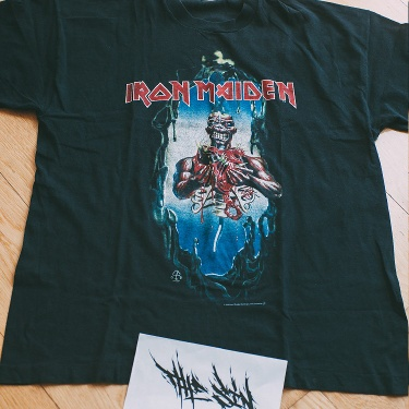 "Iron Maiden - ""Seventh Son of a Seventh Son"" 1988 Vintage T-Shirt"