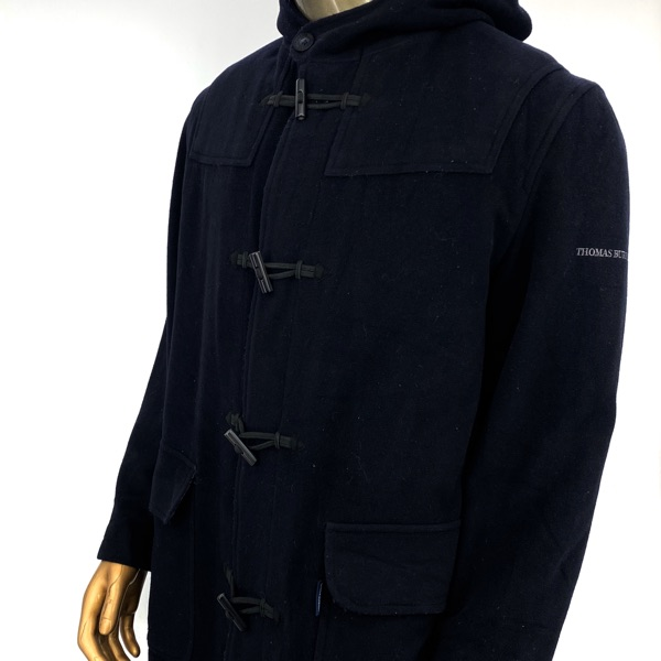 Burberry Tb Duffle-Coat Cashmere Wool Xl Check