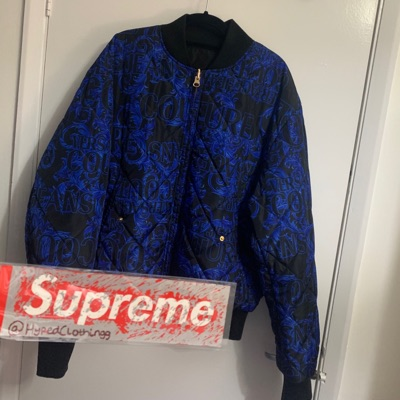Versace Jeans Couture Reversible Puffer Jacket