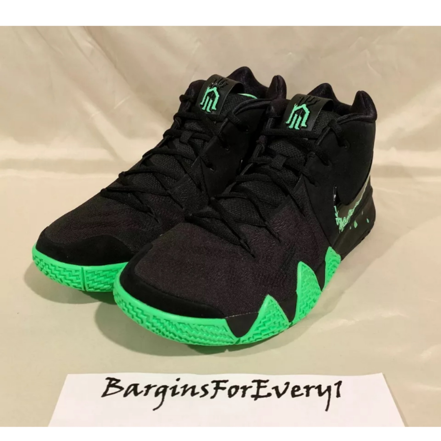 "uk availability b0299 99101 New Nike Kyrie 4 "" Halloween"" 943806-012"