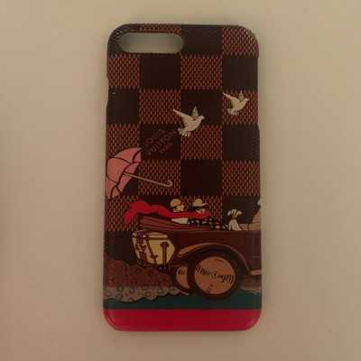 Louis Vuitton Iphone 7+ And Iphone 8+ Case