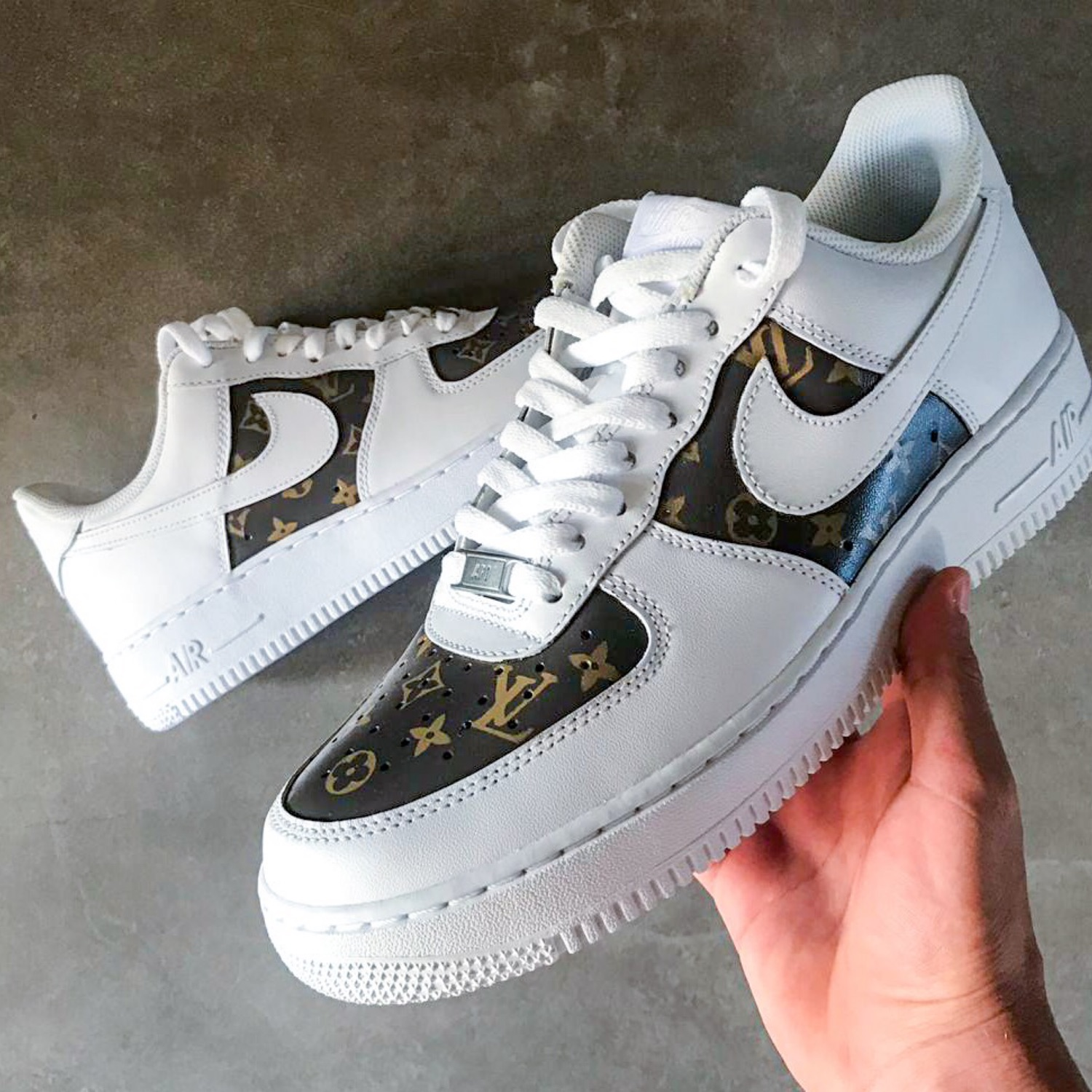 buy best special for shoe fast delivery Nike Air Force 1 Louis Vuitton Custom *Any Size*