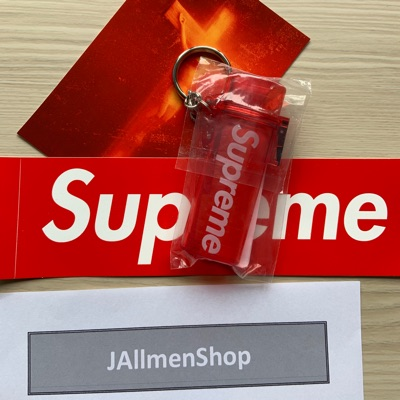 Supreme Sticker + Accessories Bundle