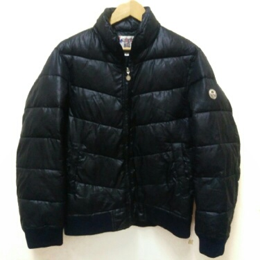 Liberty Bell puffer jacket black snow wear vintage