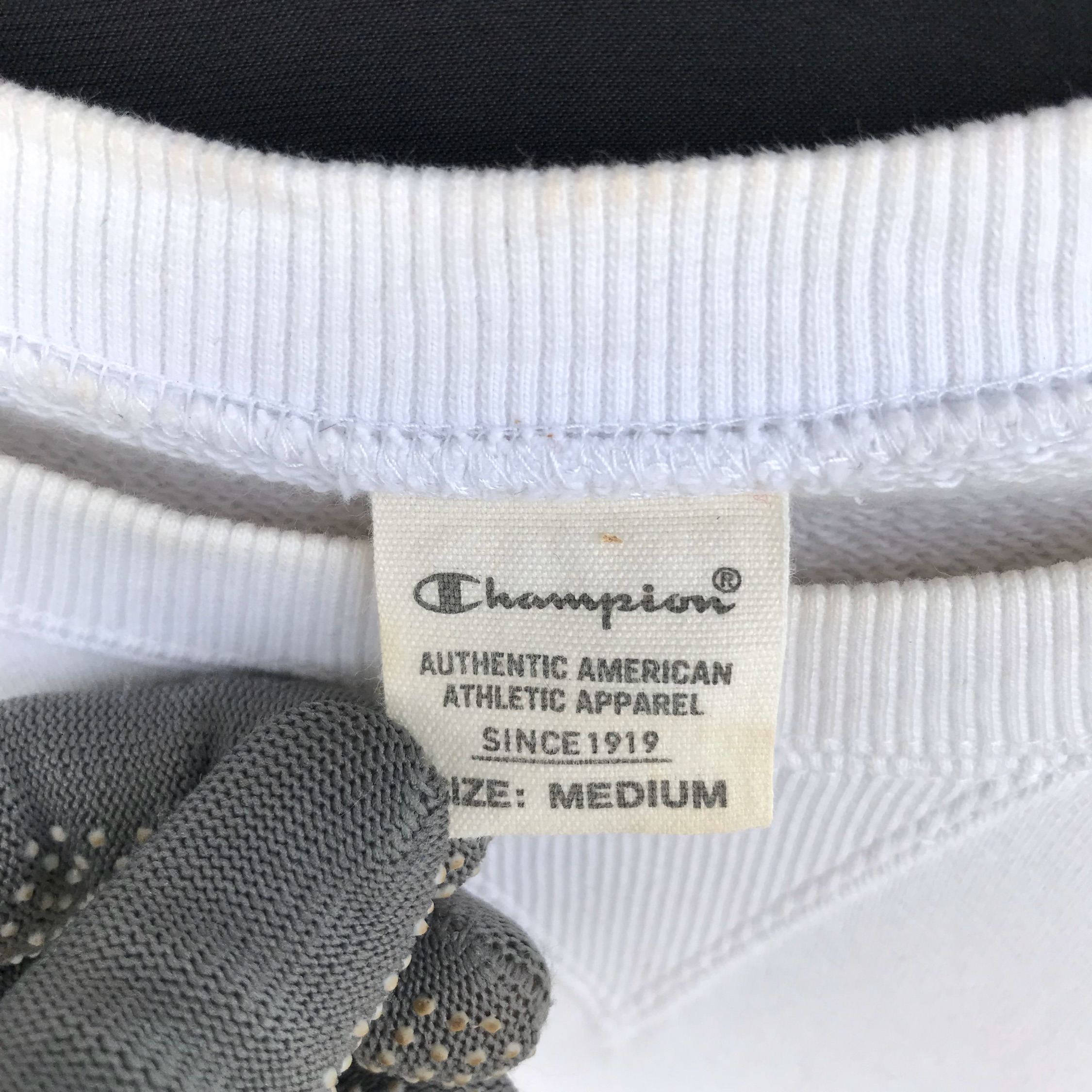 Vintage Champion Small Logo Embroidery