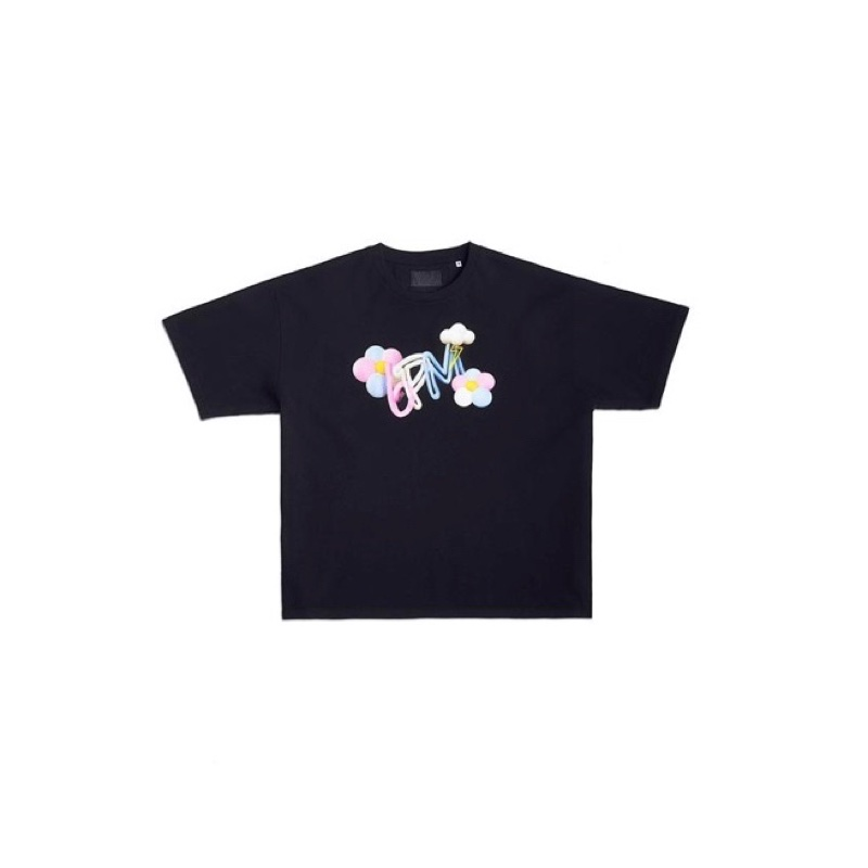 6PM Bloom T-Shirt Black