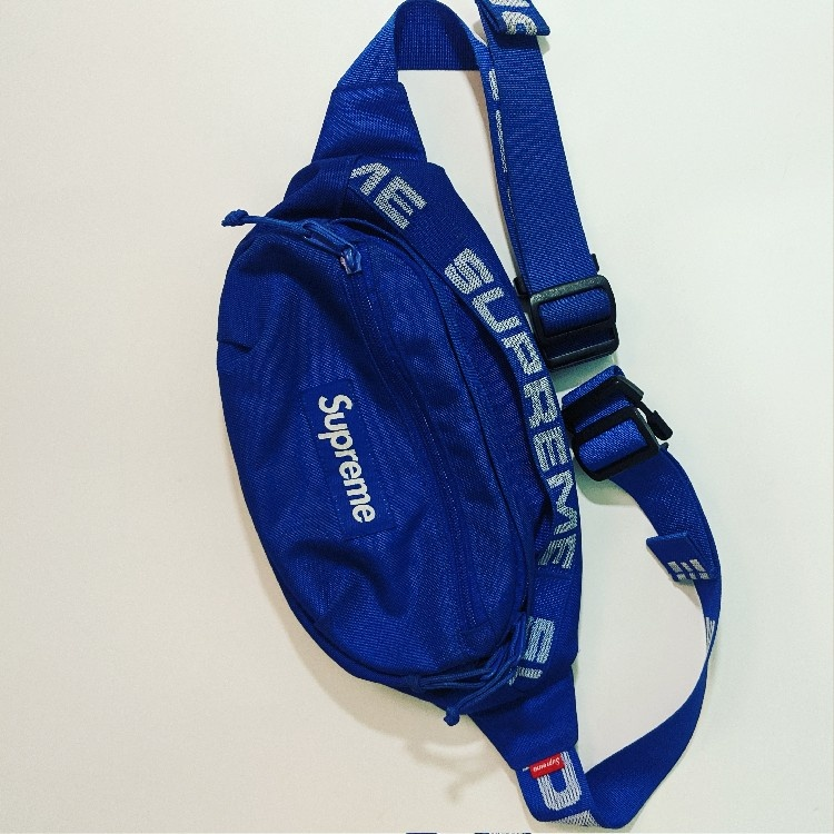 Supreme Waist Bag (SS18) Royal