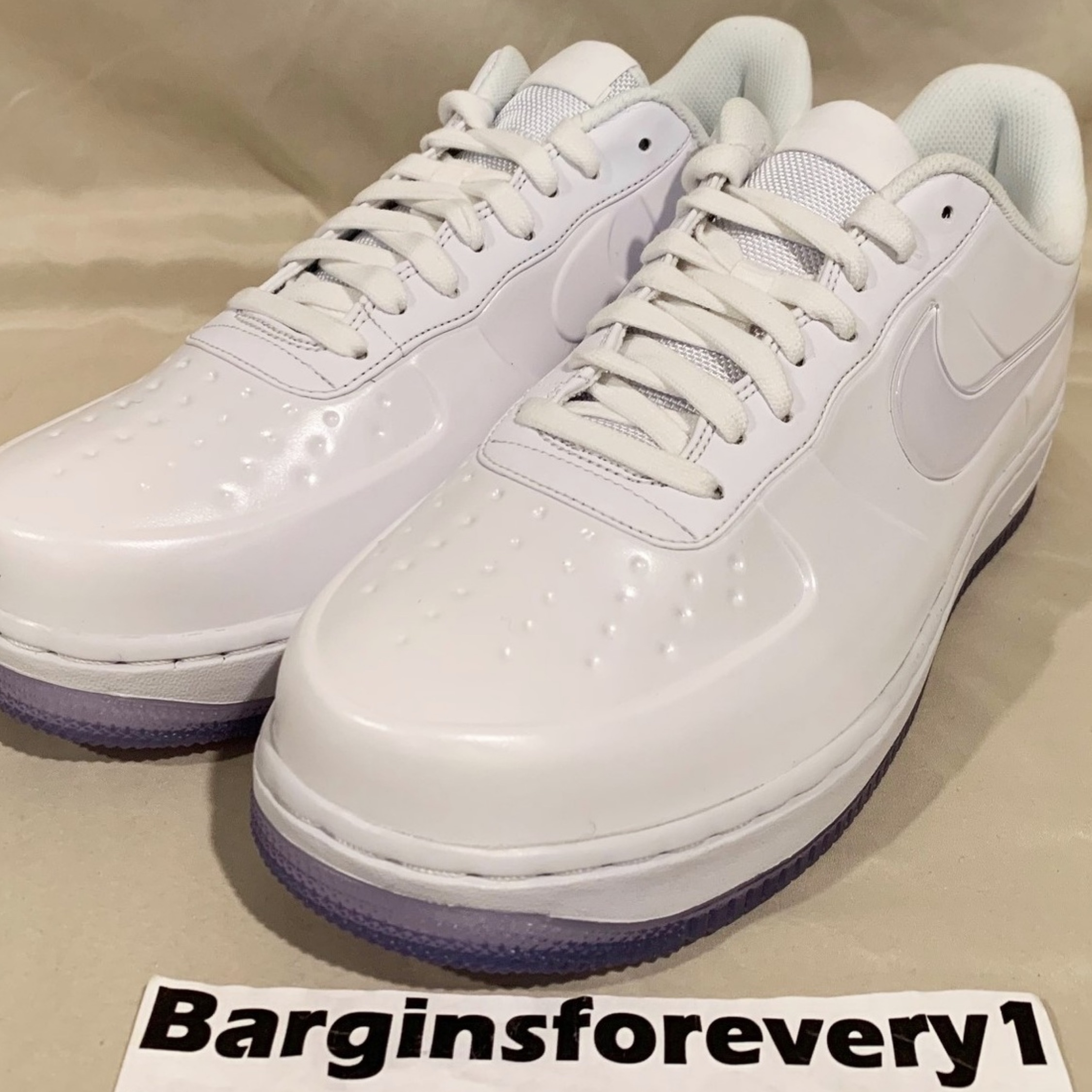 timeless design e1f70 24380 New Nike Af1 Foamposite Pro Cup