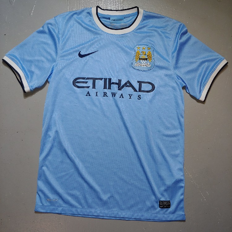 promo code 2f9d3 8d662 Nike Dri-FIT Etihad Airways Mcfc Soccer Football Jersey Size Medium