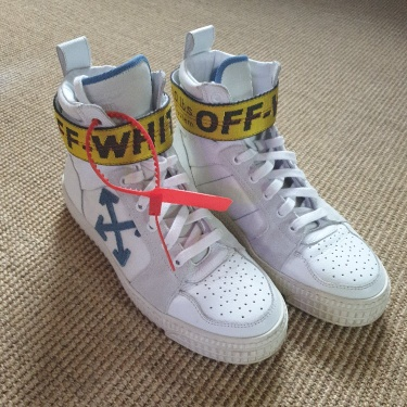 Off White High Tops Industrial