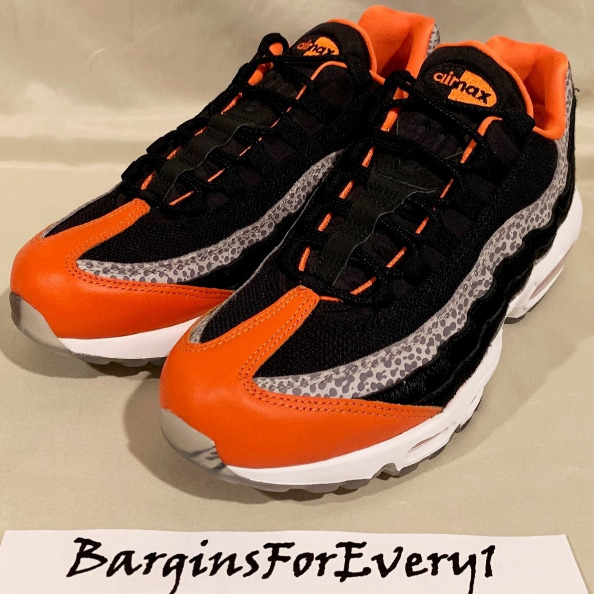 design intemporel 91b07 758d1 New Nike Air Max 95 Safari