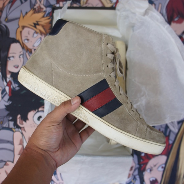 Gucci Suede High Top