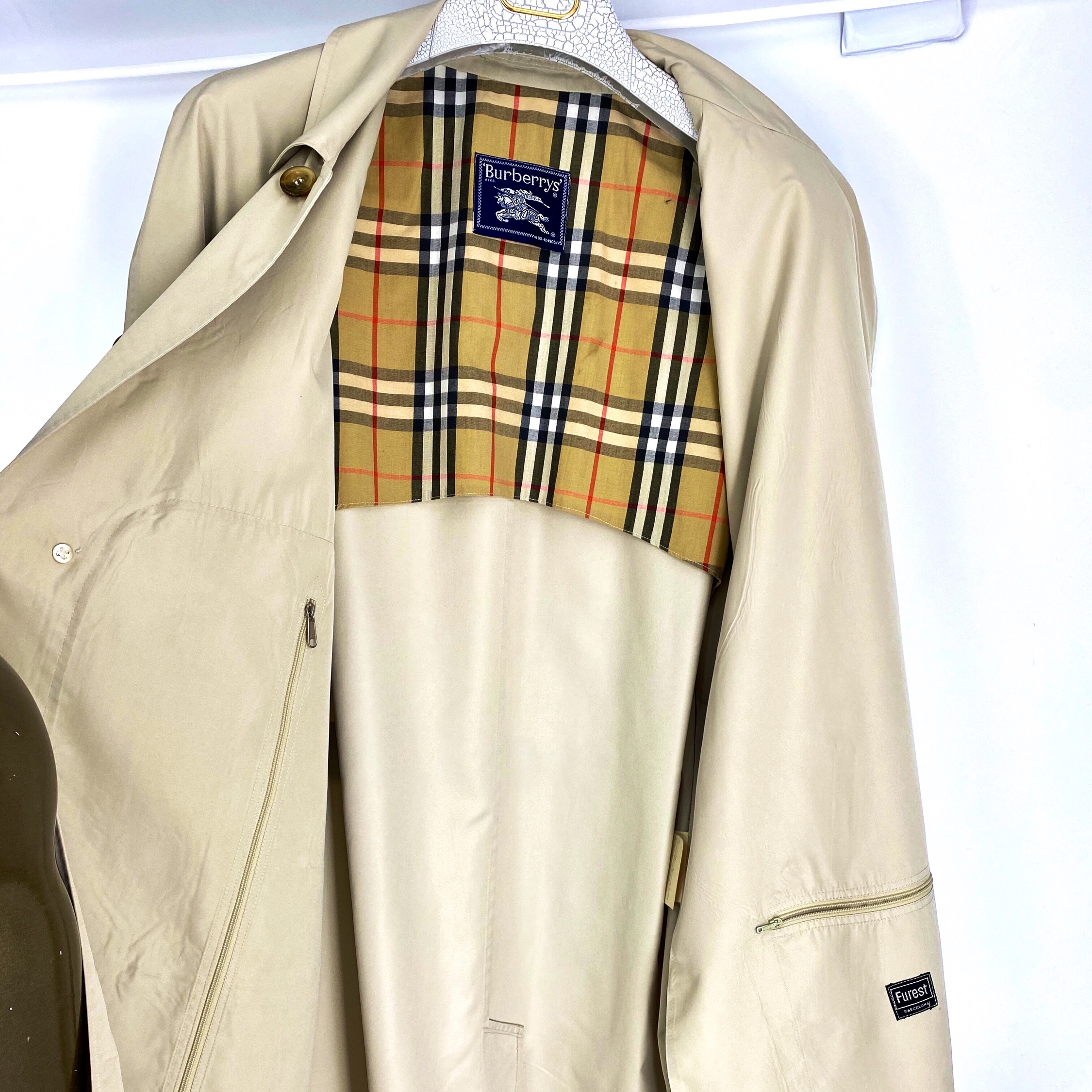 Burberry Over Coat Trench L Nova Check