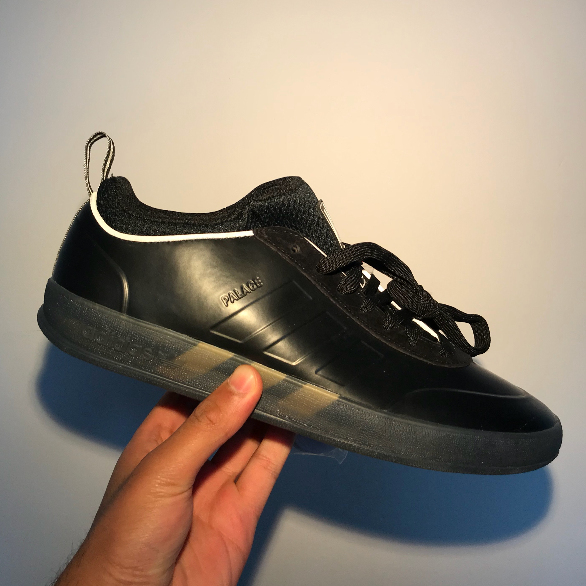 Palace X Adidas Pro 2 Skate Shoes In Black
