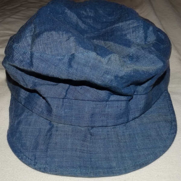 Paul Smith Military Style Cap Blue