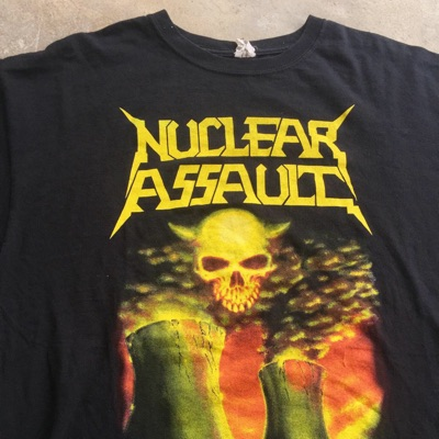 Vintage 00'S  Band Nuclear Assault - Xl