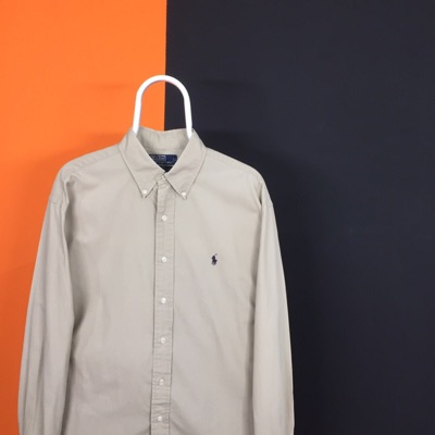 Polo Ralph Lauren Vintage Grey Oxford Shirt