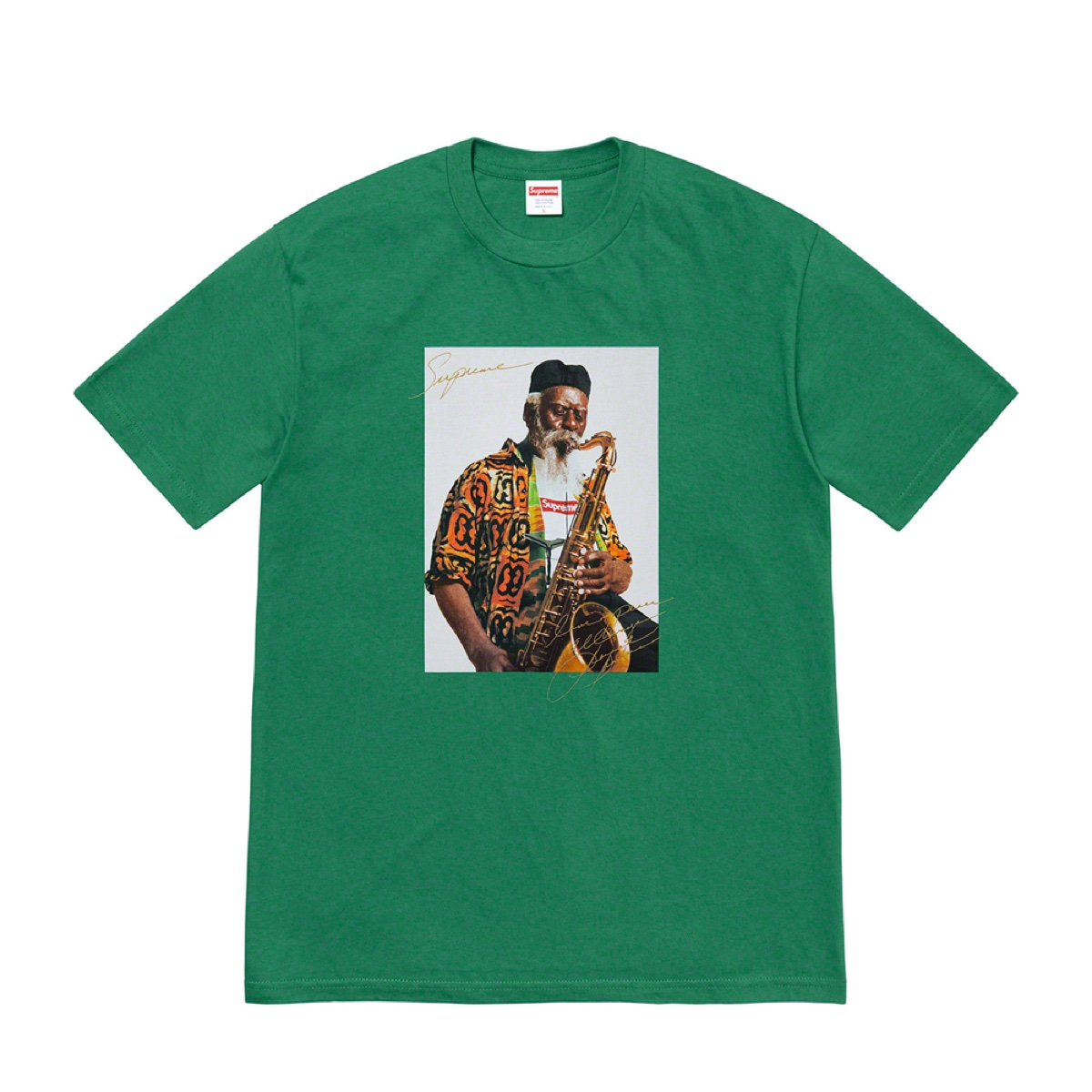 Supreme Pharoah Sanders Tee Light Pine
