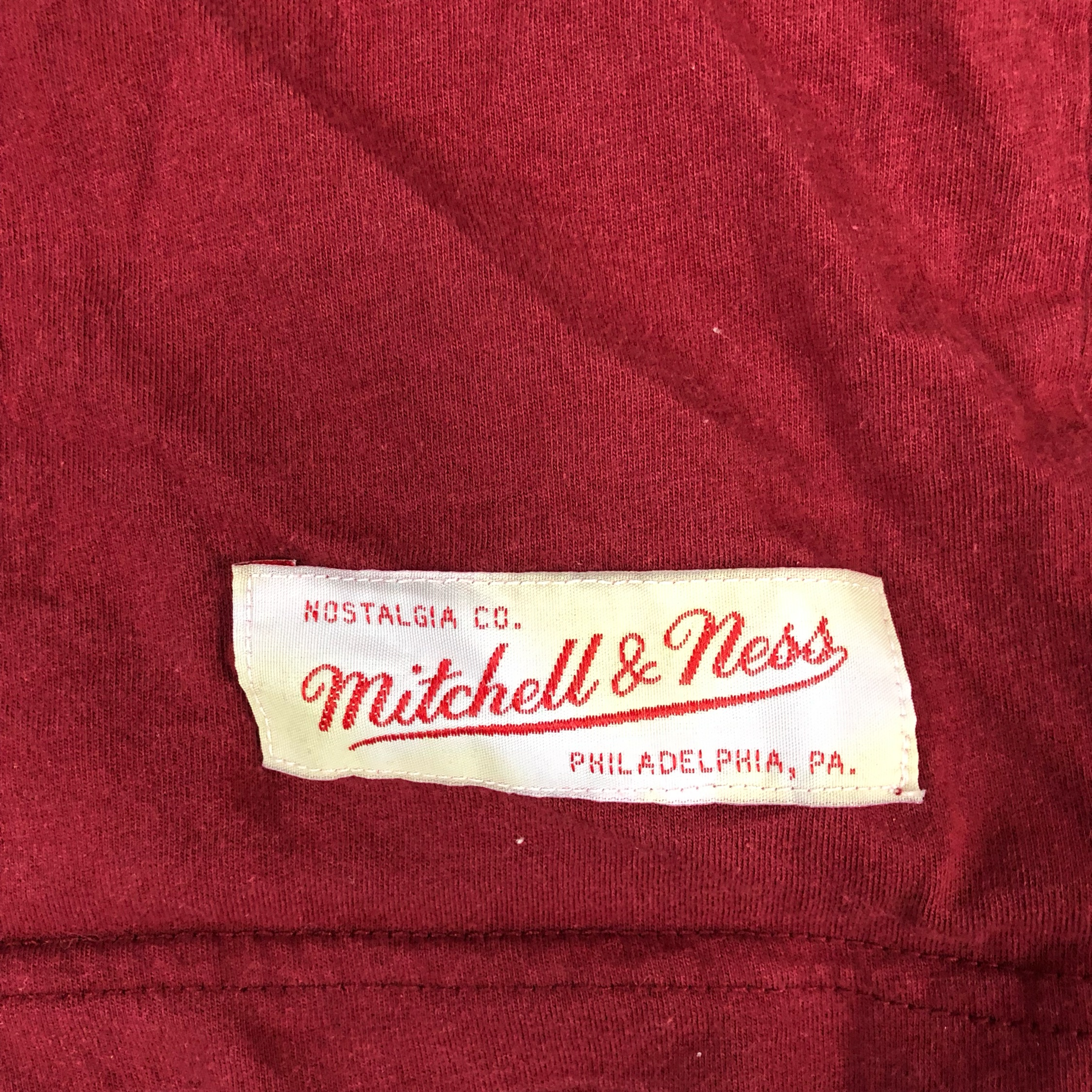 Mitchell And Ness Phillies T Shirt 4Xl