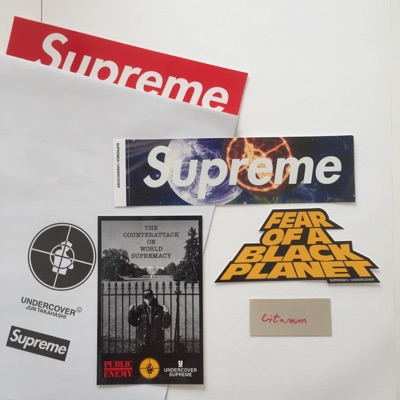 Supreme Undercover Public Enemy Pack + Poster