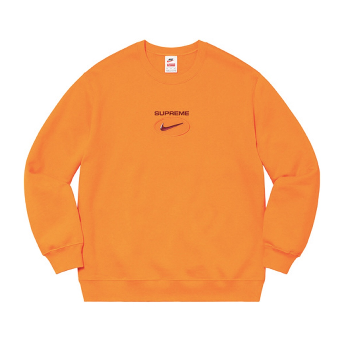 Supreme Nike Jewel Crewneck Orange