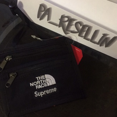Supreme North Face Travel Wallet