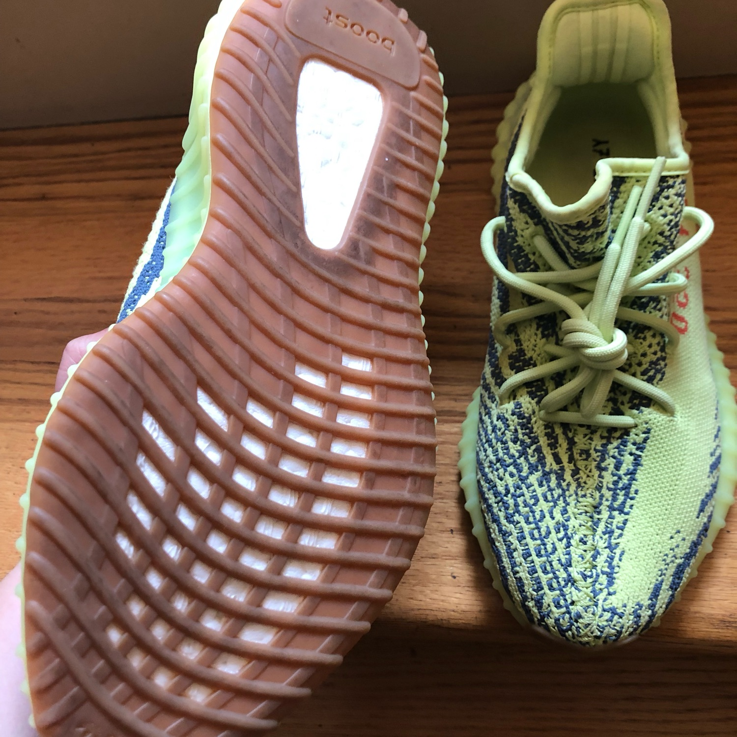 brand new e2d65 af25b Yeezy Boost 340 V2 Semi Frozen Yellow Size 8