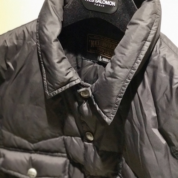 Neighborhood Buggy E-Down Shirt Jacket Large