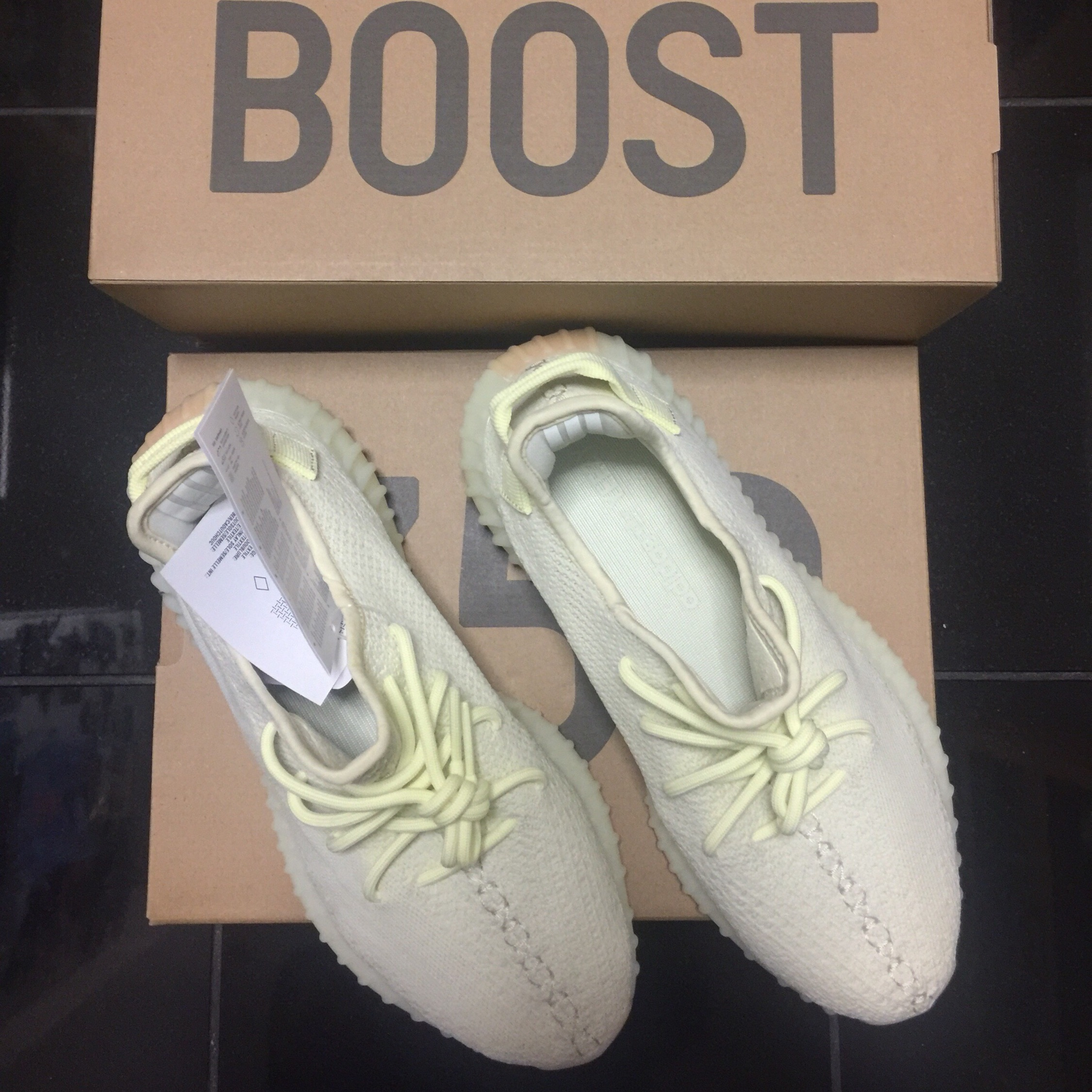 b3f2743bcc0 Adidas Yeezy Boost 350 V2 Butter