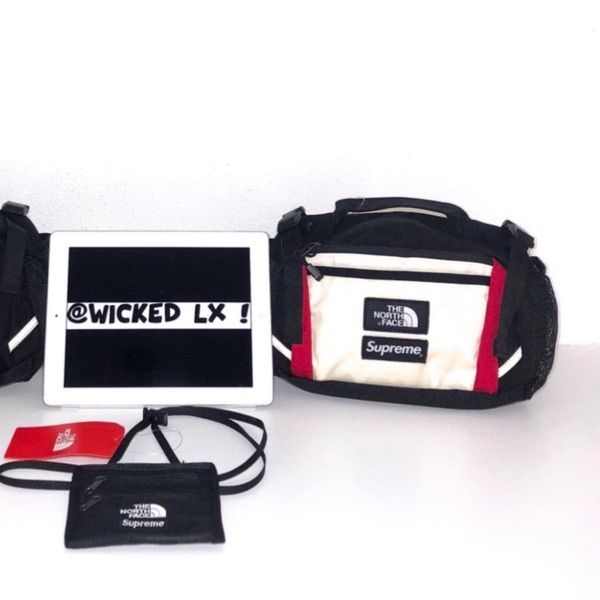 Supreme Tnf The North Face  Expedition Waist Bag