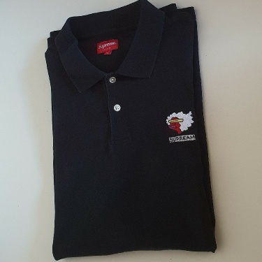 FW17 Supreme Gonz Ramm Black polo shirt size XL