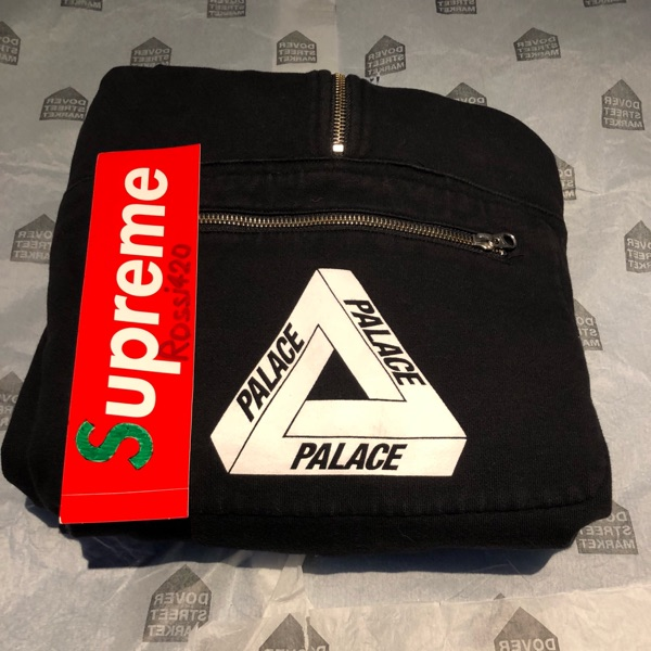 Palace Half Zip Hoodie Negotiable