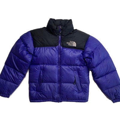 Blue/Purple North Face Nuptse Puffer Jacket
