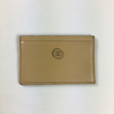 Chanel Cc Leather Card Holder