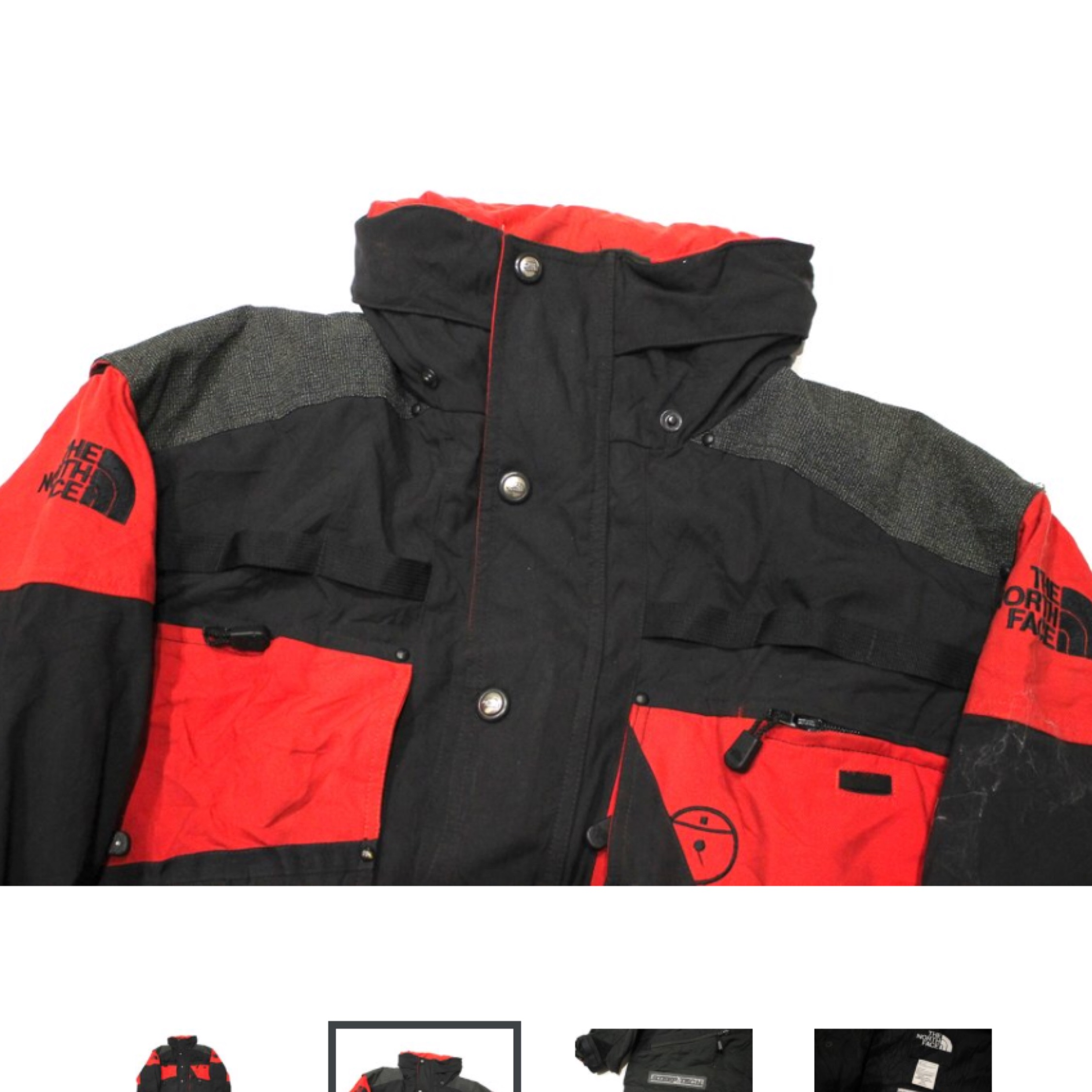 7423c0173 Vintage Red The North Face Steep Tech Jacket