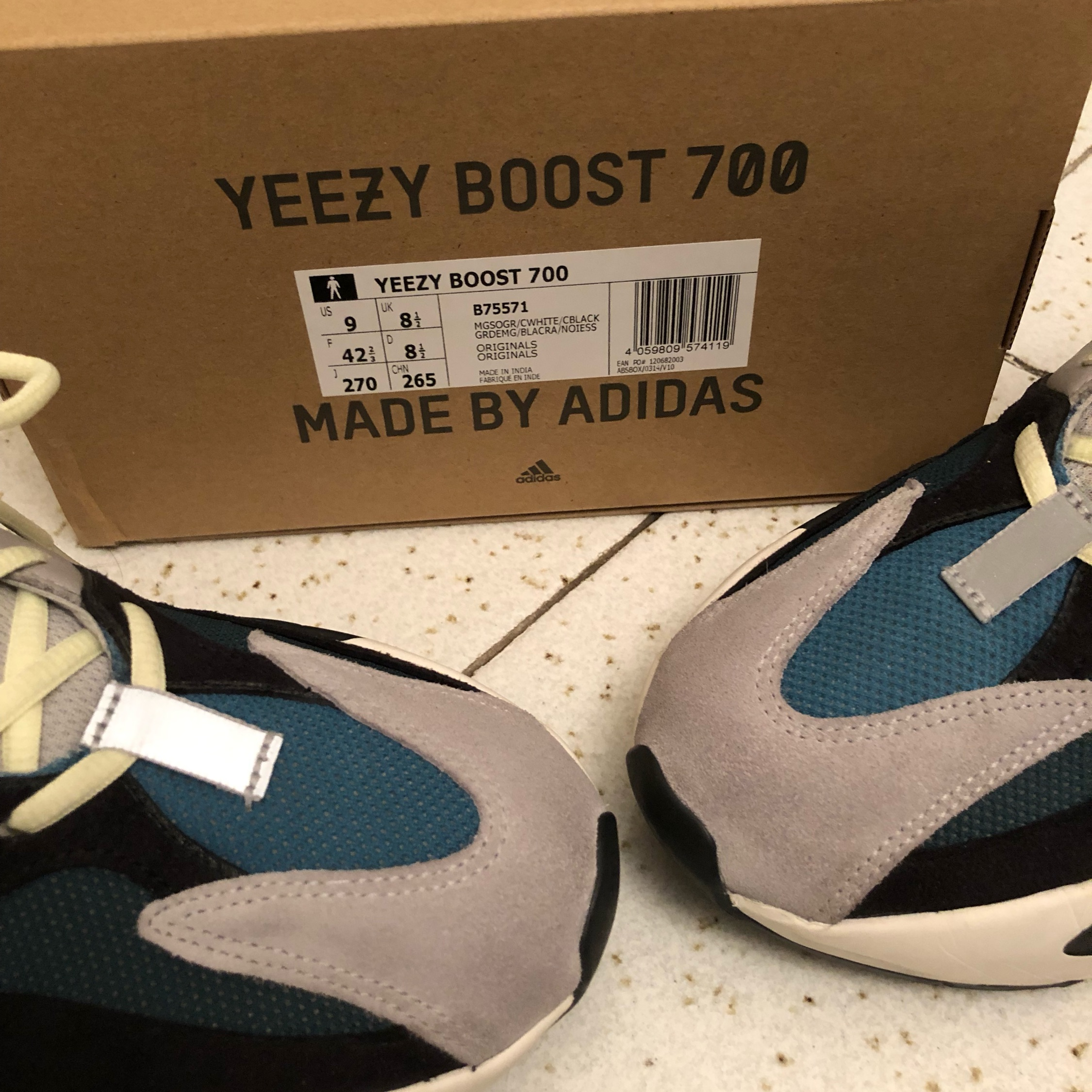 new style e6a3d 17f96 Adidas Yeezy Boost 700 Wave Runners By Kanye West