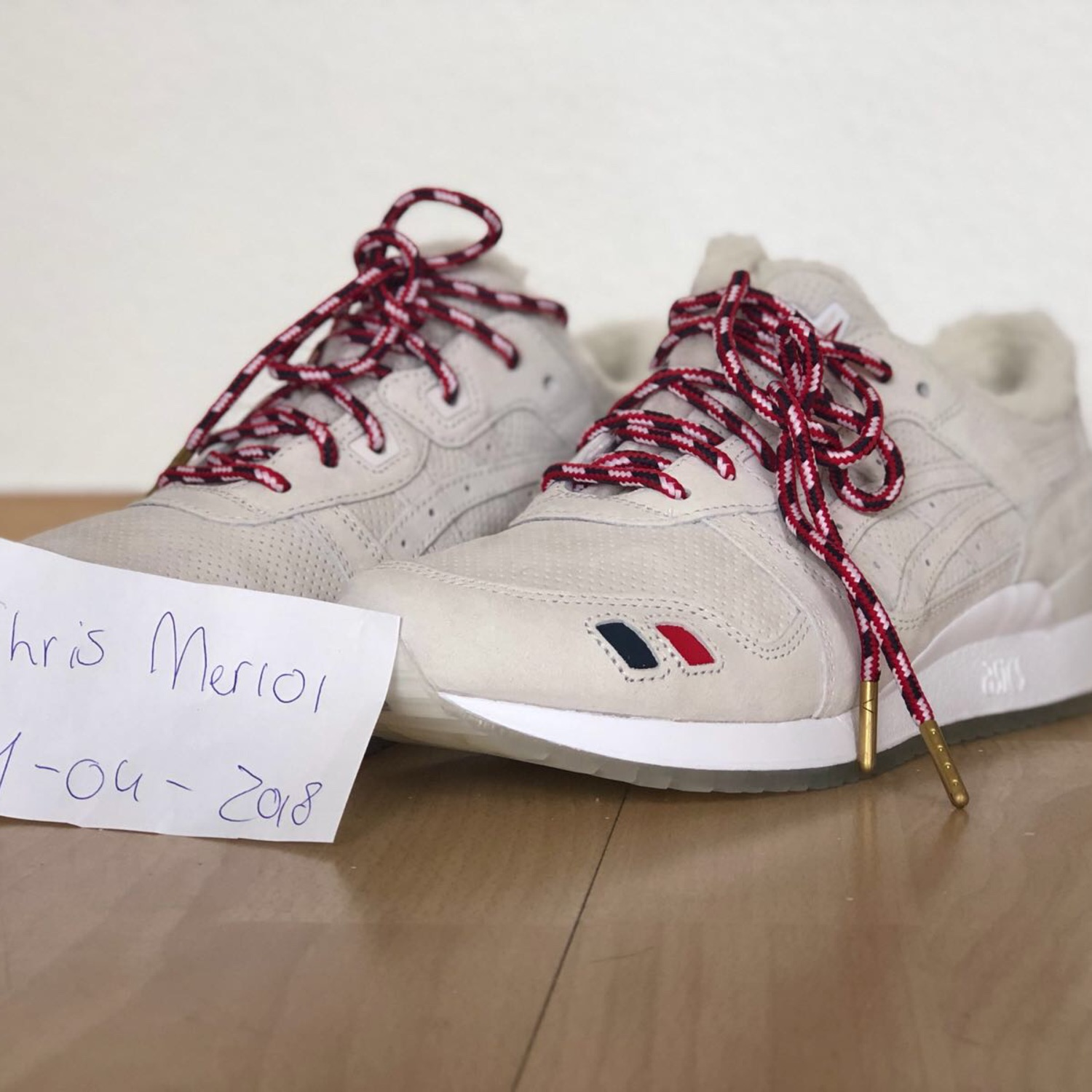 separation shoes ffdcb 736ca Kith X Moncler X Asics Gel-Lyte Iii