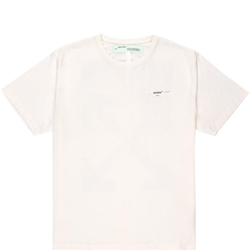 OFF-WHITE Oversized Diag Arrows T-Shirt White/Multicolor