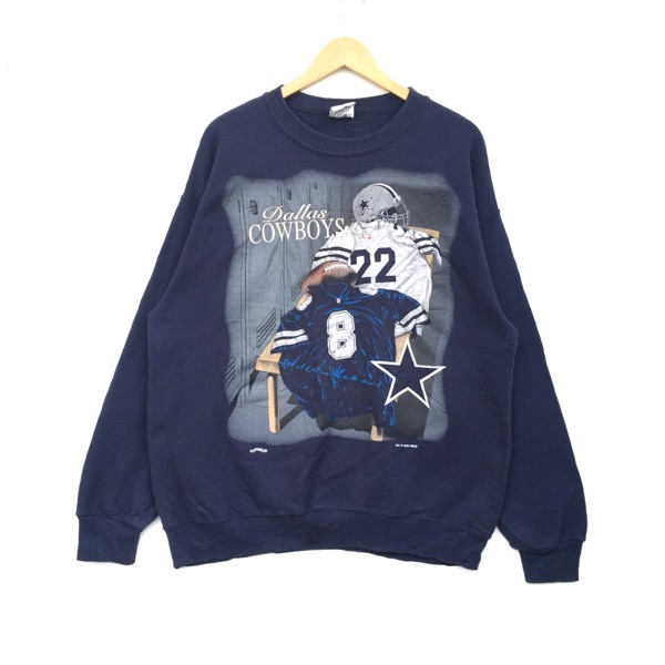1994 Dallas Cowboys Sweatshirt Big Logo