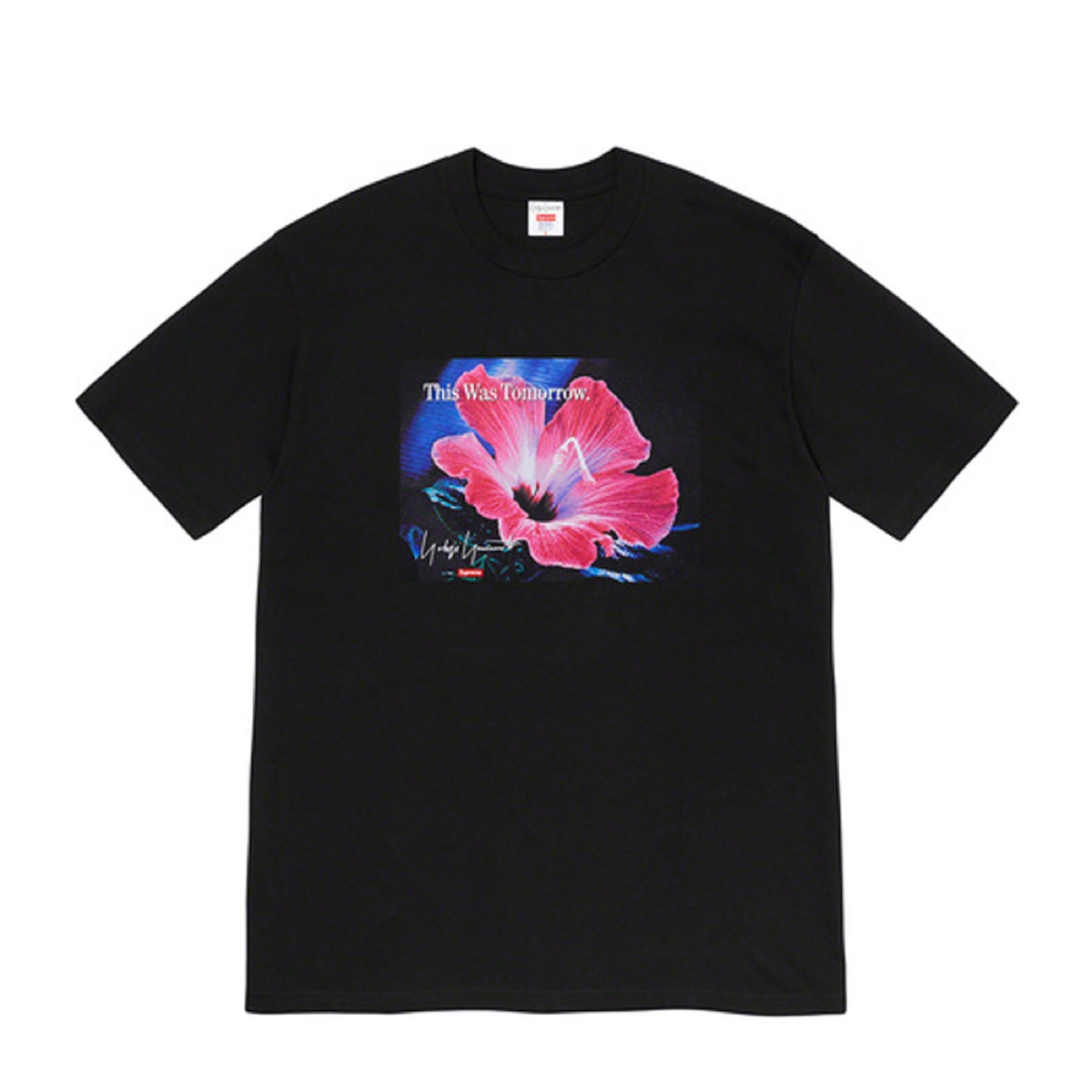 Supreme Yohji Yamamoto This Was Tomorrow Tee Black