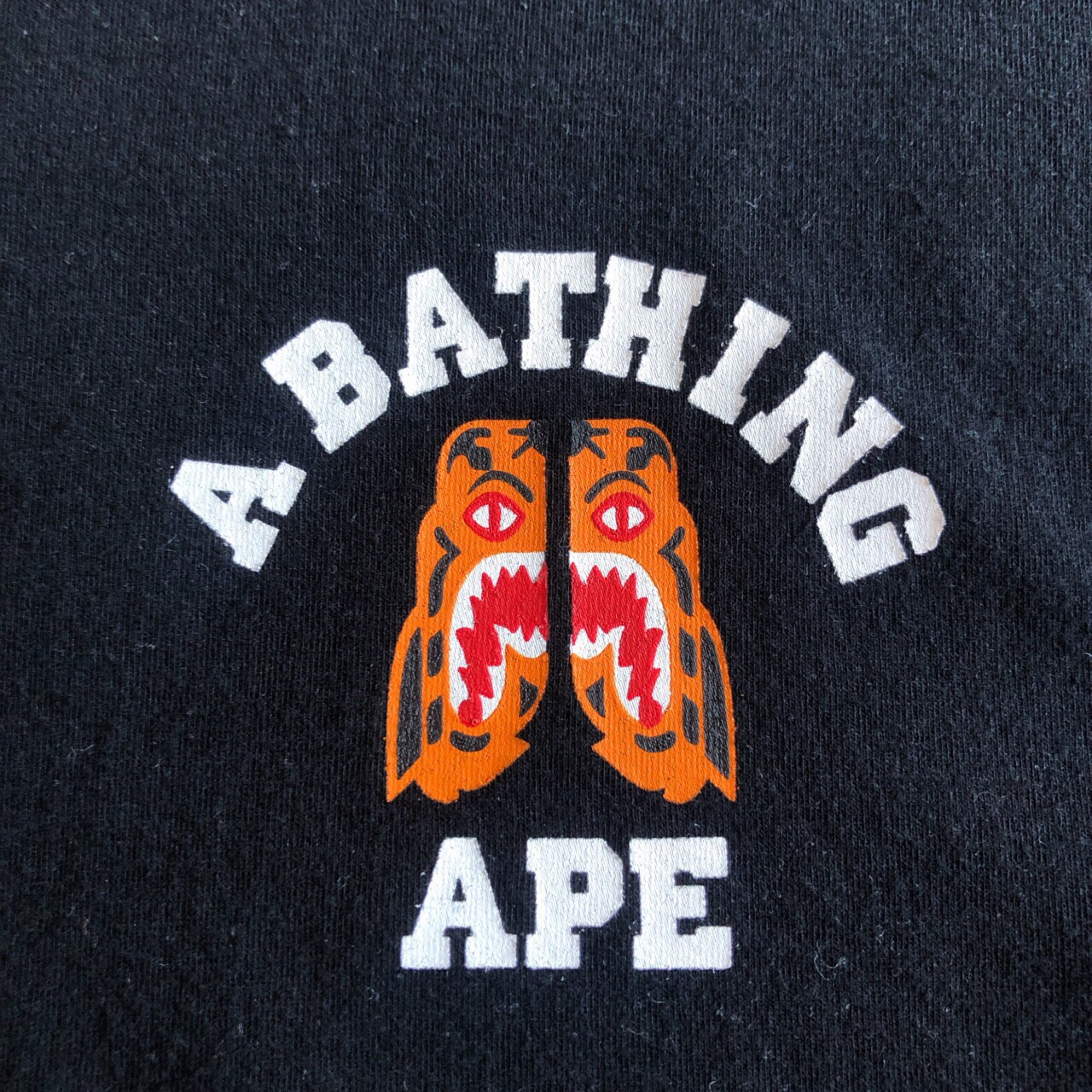 Bape Tiger L/S T Shirt