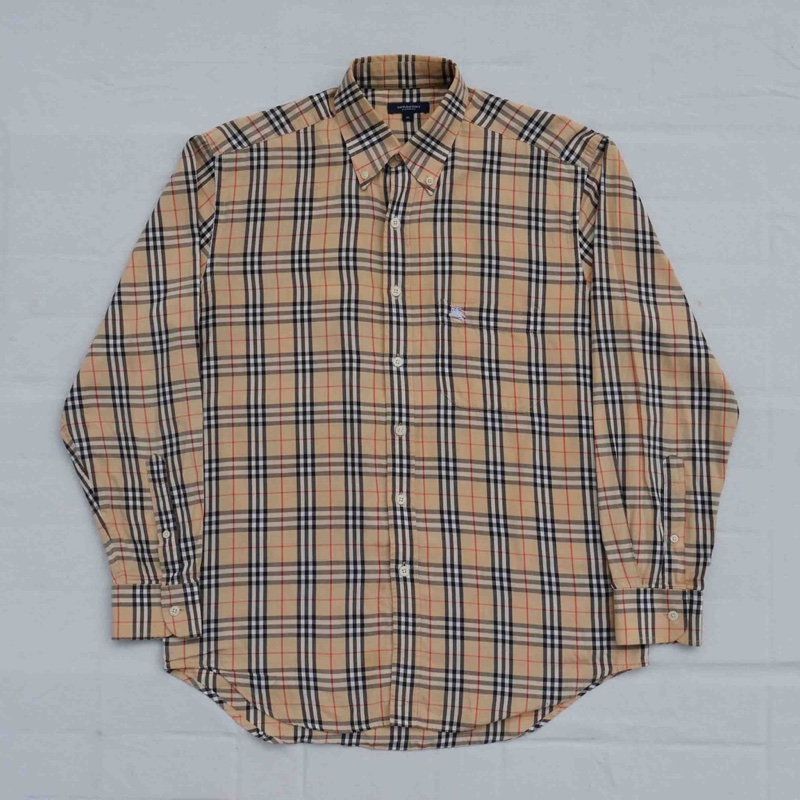 VINTAGE BURBERRY NOVA CHECK SHIRT