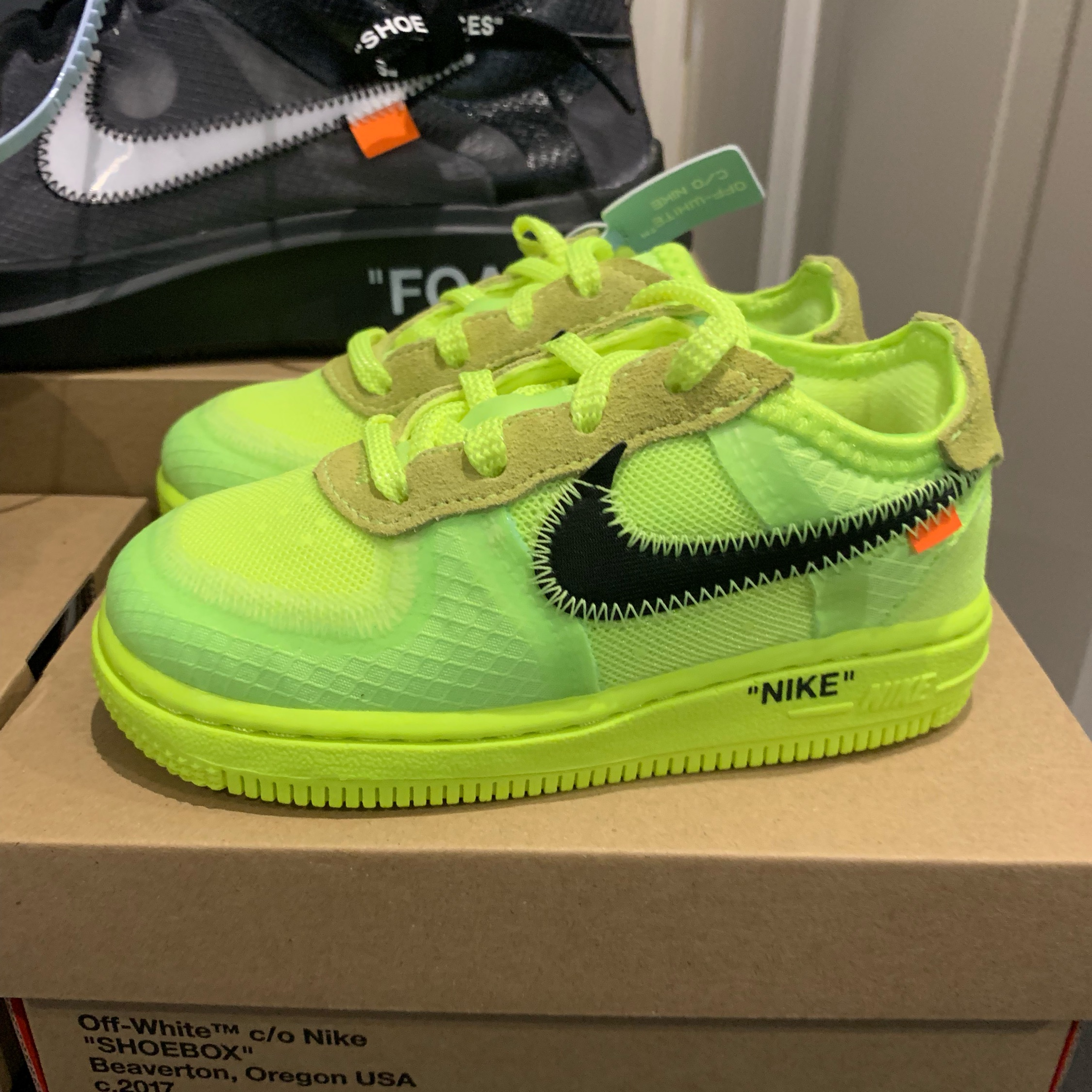 Air Force 1 Low Off White Infant