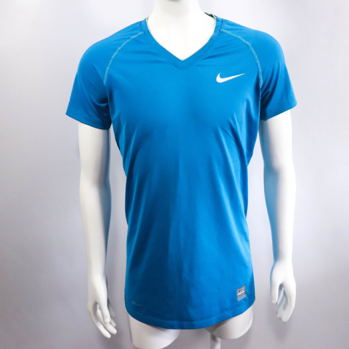 Blue Nike Pro Athletic Running T-Shirt - Size Small